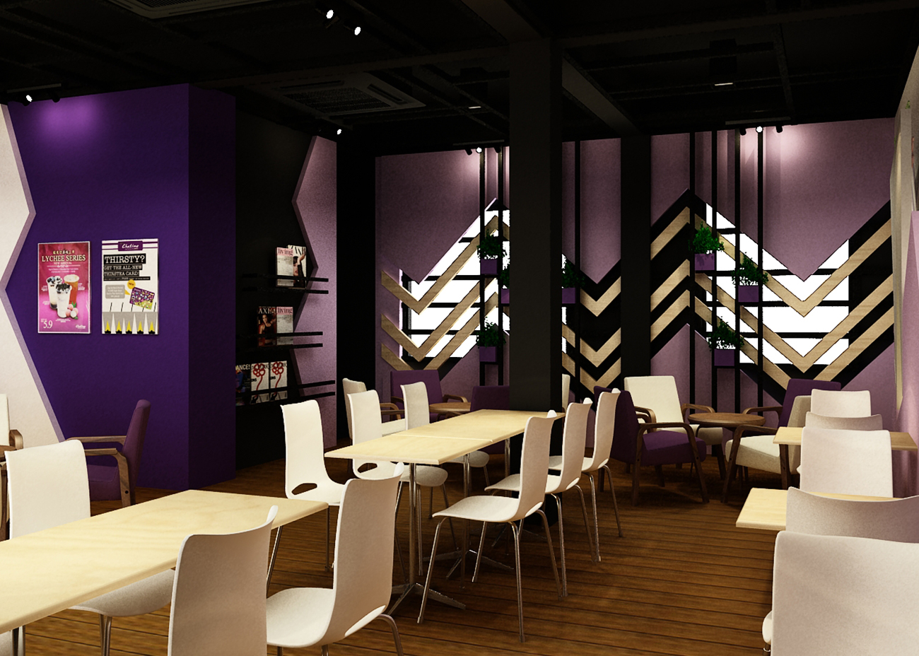 Commercial Projects in year 2012 Chatime Raja Uda