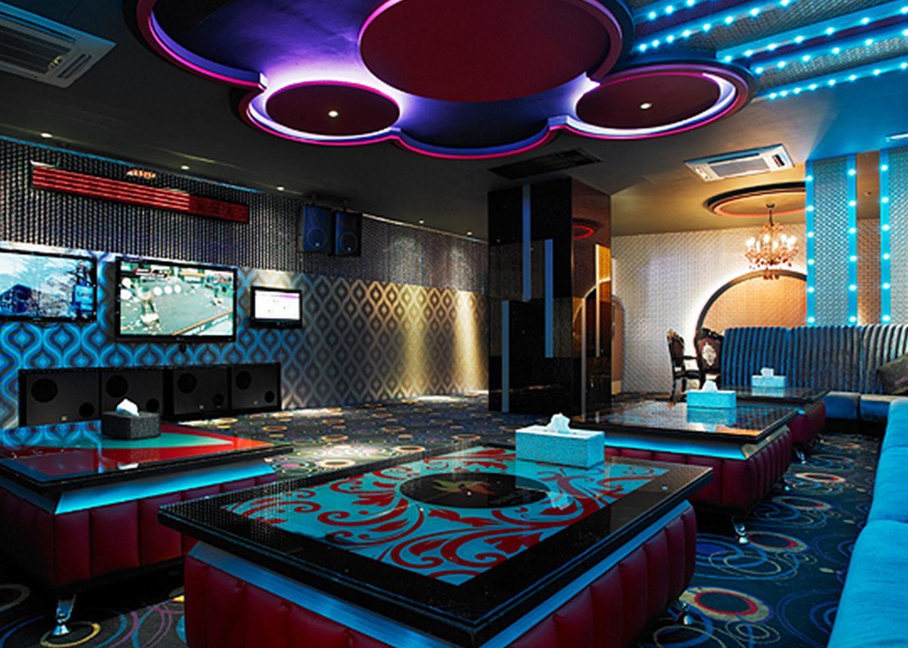 Commercial Projects in year 2010 Suncity KTV Midlands Park
